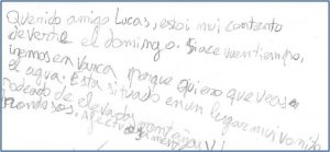 Dislexia niños 8 años